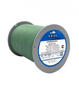Yeti, Consequent drut woskowy zielony 2,0 mm