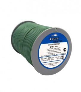 Yeti, Consequent drut woskowy zielony 4,0 mm