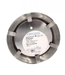 Drut Remanium twardy 0,7 mm 165 m