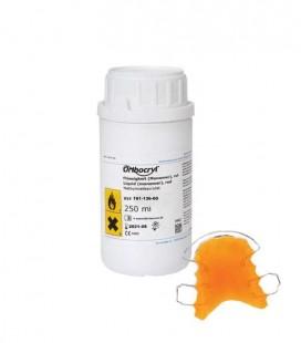 Orthocryl płyn neonowy pomarańczowy 250 ml