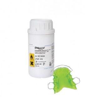 Orthocryl płyn neonowy zielony 250 ml