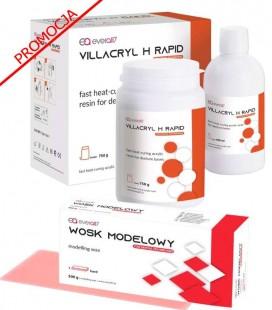 Villacryl H Rapid V4 750 g + 400 ml + Wosk Twardy za 1 zł, PROMOCJA