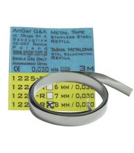 Taśma metalowa Anger 1247-ref 7 mm/0,045 mm