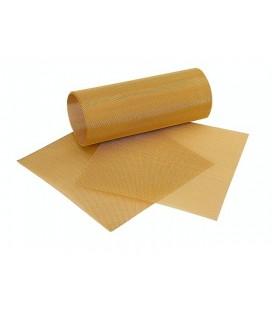 Fino Siatka z drutu pozłacana 50 x 10 cm średnie otwory
