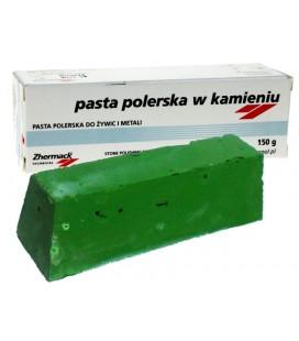 Pasta polerska w kamieniu zielona do metalu 150 g
