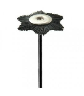 Szczotka gwiazdka czarna twarda 22 mm