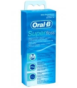 Nić dentystyczna Oral B Super Floss 50 odcinków