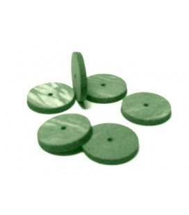 Gumka Bego tarcza zielona 22 x 3,5 mm