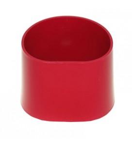 Pierścień Bego plastikowy czerwony z podstawą