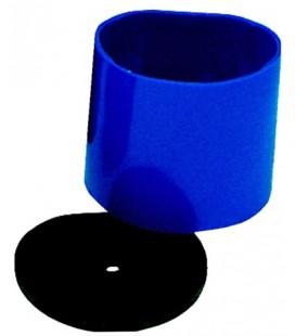Pierścień Bego plastikowy niebieski z podstawą
