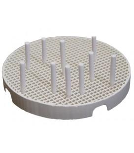 Piny do napalnia porcelany ceramiczne 3 mm x 25 mm 10 szt.