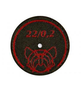 Tarcza Motyl zbrojona 22 x 0,2 mm BF