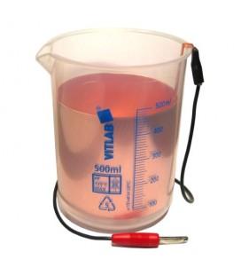 Naczynie z elektrodą do Elektropolerki EPS