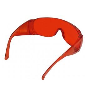 Okulary do lampy polimeryzacyjnej pomarańczowe Falcon
