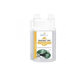 Quatrodes Unit 1 L koncentrat do mycia i dezynfekcji urządzeń ssących.
