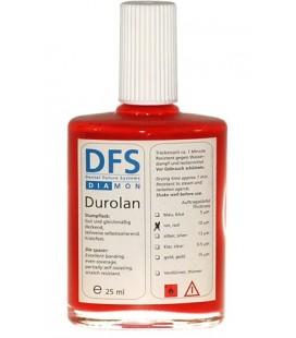 Durolan lakier czerwony 10µ do słupków 25 ml