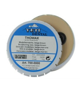 Yeti, Thowax wosk modelowy beżowy z brązem 70 g