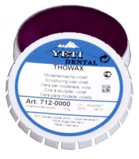Yeti, Thowax wosk modelowy fioletowy 70 g