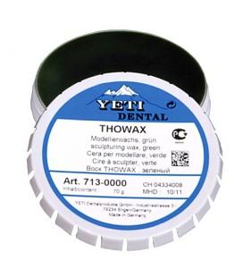 Yeti, Thowax wosk modelowy zielony 70 g