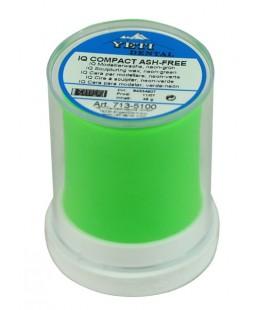 Yeti, IQ Compact wosk modelowy jaskrawo-zielony 45 g