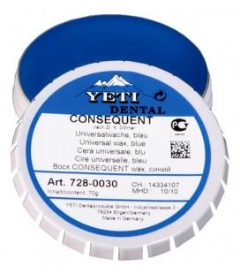 Yeti, Consequent wosk niebieski 70 g
