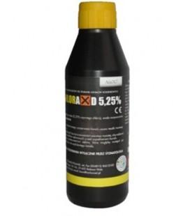 Chloraxid 5,25% 200 g płyn do płukania kanałów korzeniowych.