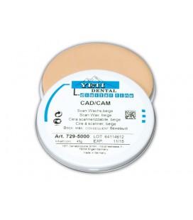 Yeti, wosk do skanowania CAD/CAM beige 45 g
