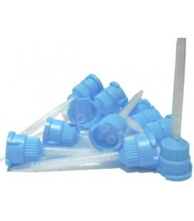 Końcówki mieszające Dentaline jasnoniebieskie 50 szt.